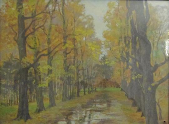 Рябовол Валерий Андреевич. Осенние аллеи