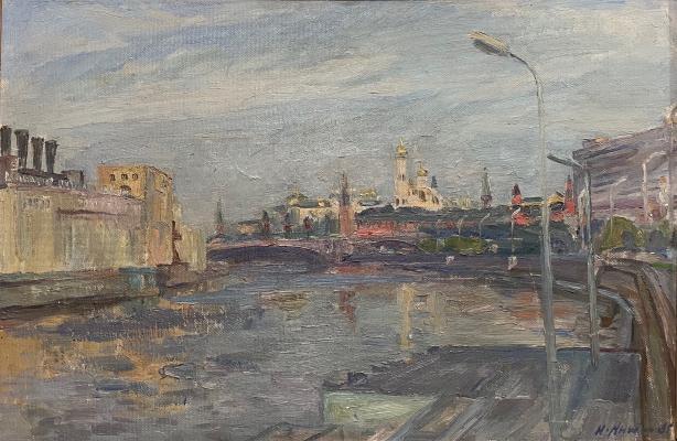 Антипин Николай Николаевич. Москва-река. Кремль
