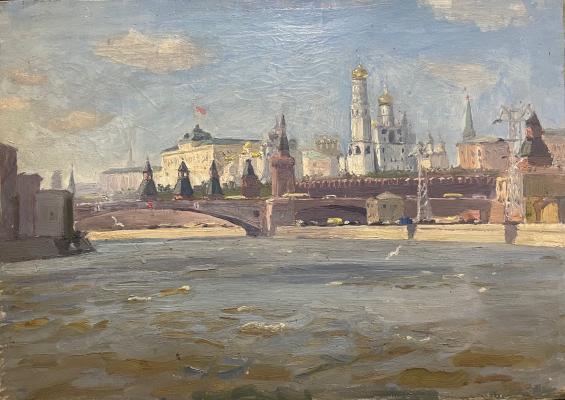 Антипин Николай Николаевич. Москва. Кремль