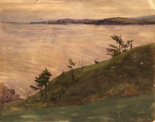 Мешков Евгений Алексеевич. Озеро Ольхон