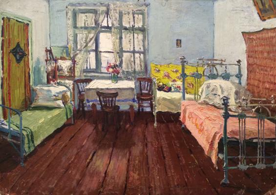 "Ivasenko A. ""Interior of a room."""