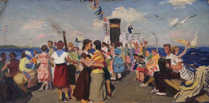 "Ivasenko A. ""Festivities on the ship."""