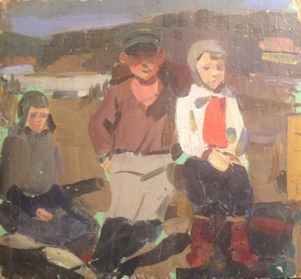 """Anatoly Ivasenko """"The kids."""""""