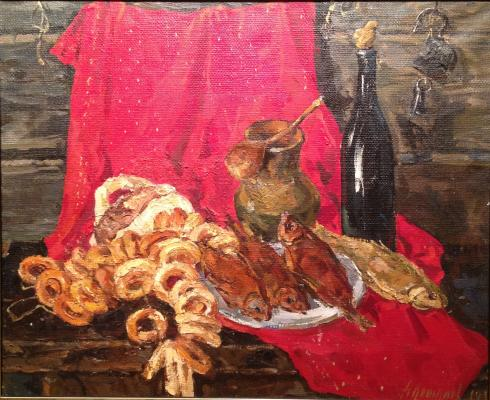 "Kozhanov N. ""Still life with bagels ."""