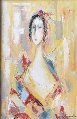Саркисян Александр Ваганович. Портрет в белых тонах
