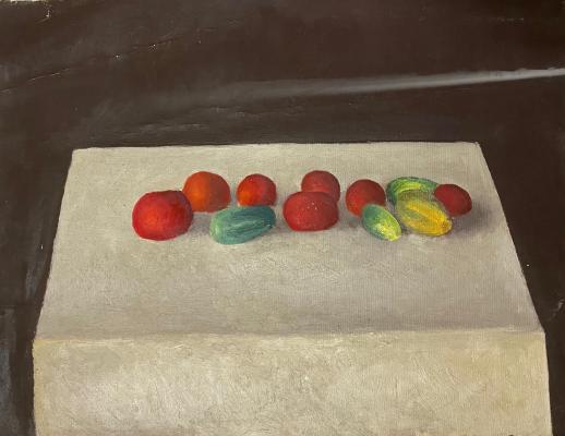 Курило Леонид Григорьевич. Овощи на столе
