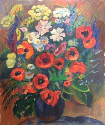 Матинян Саакануш Сааковна. Цветы