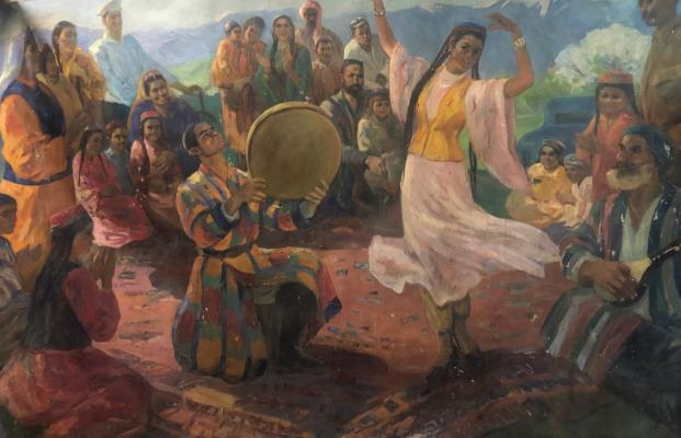 Хайдаров Ашур Карабаевич. Танцы