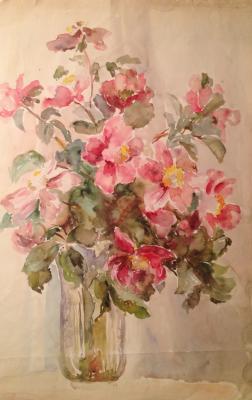 "Solodovnikova N. A. ""Pink flowers."""
