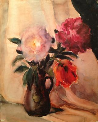 "Solodovnikova N. A. ""Peonies and tulips ."""