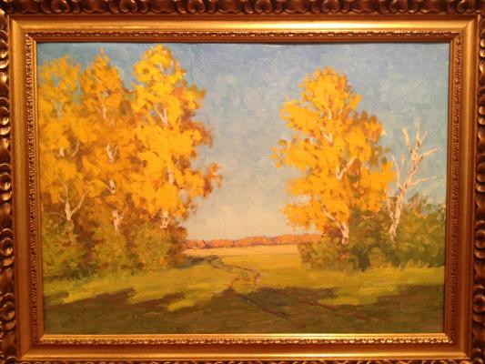 "Solovyev V. ""Golden Autumn."""