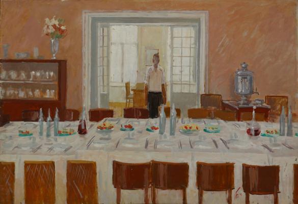 """Bogdanov M. A. """"Dining room . Vorobev"""""""