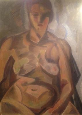 """Mordovin """"Nude model."""""""