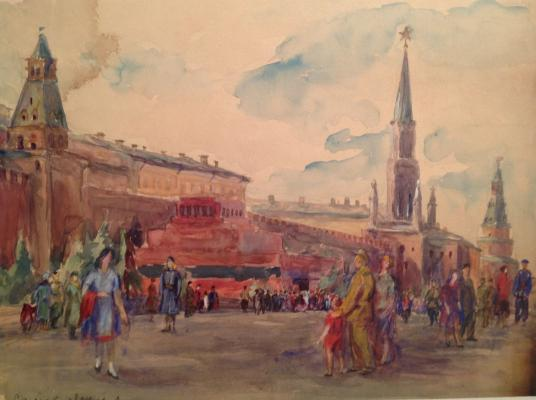 "Samoylovskikh A. I. ""In Red Square"""
