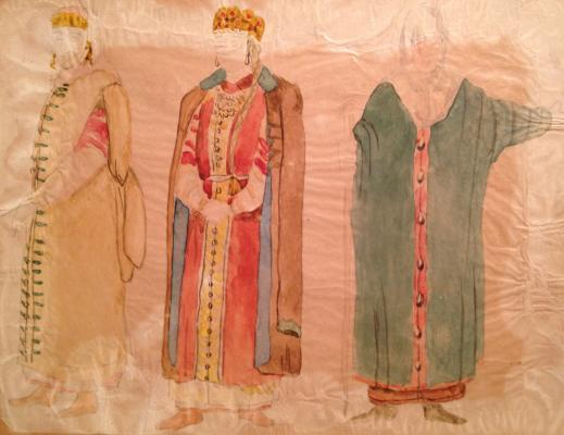 """Fedorovsky F. F. """"Costume design"""""""