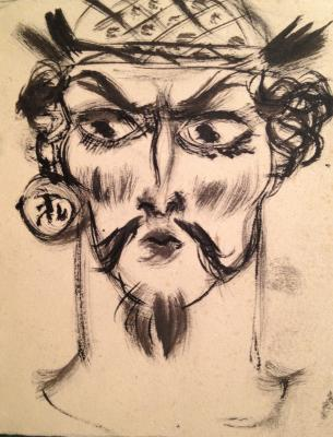 "Fedorovsky F. F. ""Make-up sketch"""