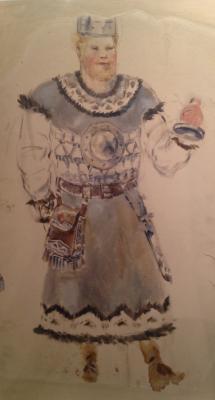 """Fedorovsky F. F. """"Costume"""""""