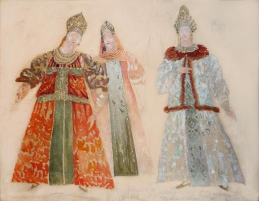 """Fedorovsky F. F. """"Maid of Pskov."""""""