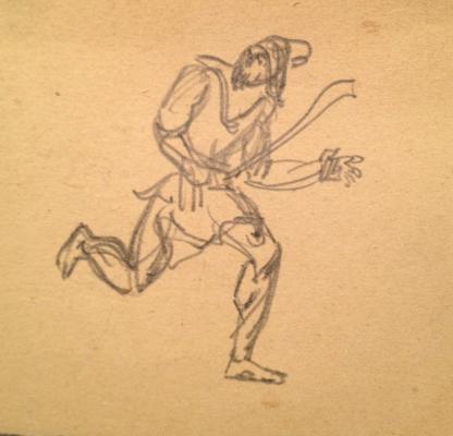 "Fedorovsky ""Sketch for the opera"""