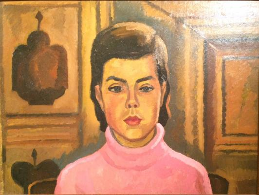 "Ossovsky P. P. ""The girl in pink."""