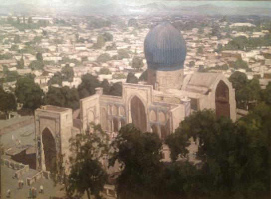 """Chulovich V. N. """"Samarkand. Gur Emir."""""""