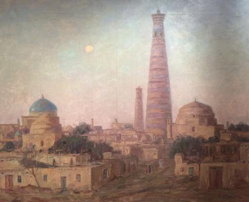 "Chulovich V. N. ""Khiva. Summer twilight."""