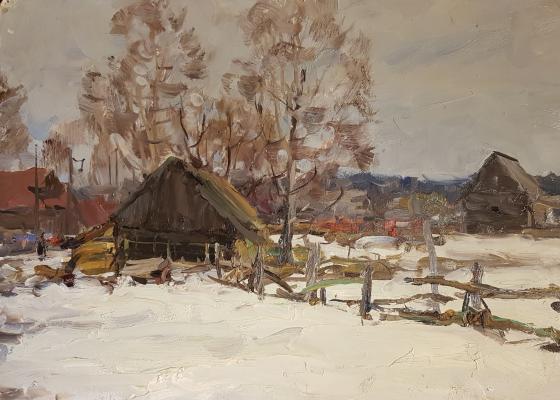 Чулович Виктор Николаевич. Зима