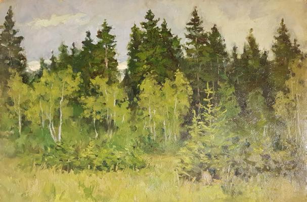 """Виктор Николаевич Чулович """"В лесу"""""""