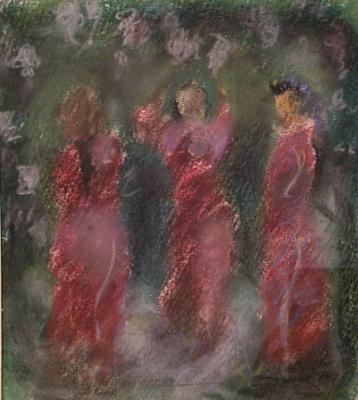 Dudnik Stepan Ilich - The Three Graces