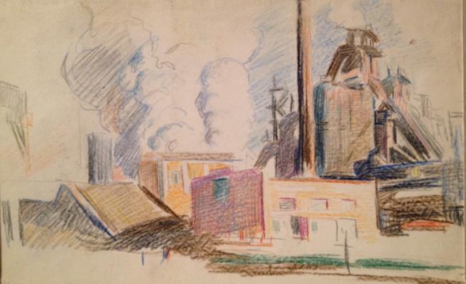 "Dudnik S. I. ""Industrial Landscape"""