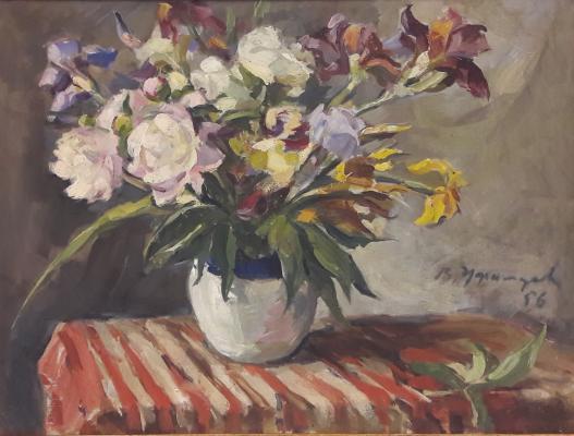 """Ufimtsev V. I. """"Flowers."""""""