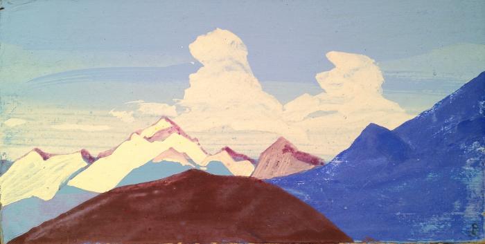 "Rerikh N. K. ""Himalayas. Mountain peaks."""