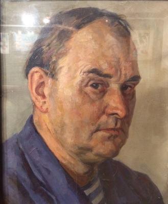 Соколов-Скаля Павел Петрович. Автопортрет.