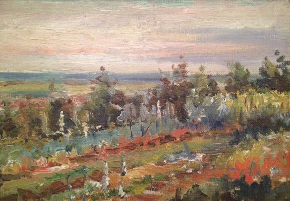 """Zefirov """"Vegetable garden."""""""