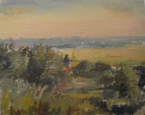 "Zefirov K. K. ""Landscape."""