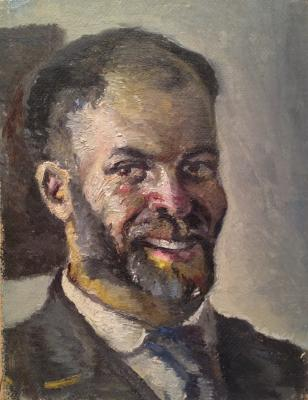 "Zefirov K. K. ""Self-portrait"""
