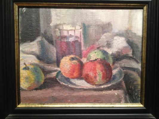 "Zefirov K. K. ""C still life with apples ."""