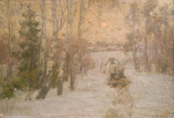 Васин Владимир Алексеевич. Зима