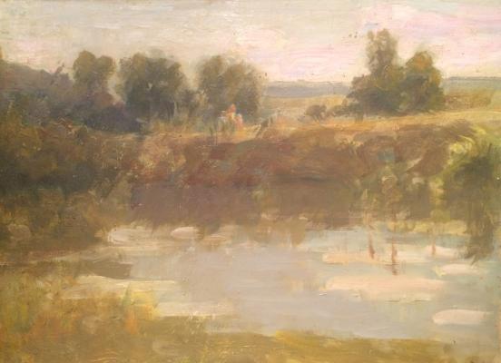 """Vasin V. A. """"The river Severka."""""""