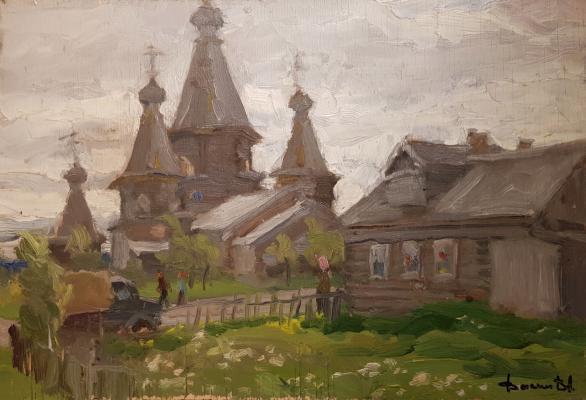 Васин Владимир Алексеевич. Деревянная церковь в Кеми