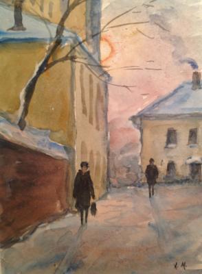"Mogilevsky A. P. ""Carpenters lane"""