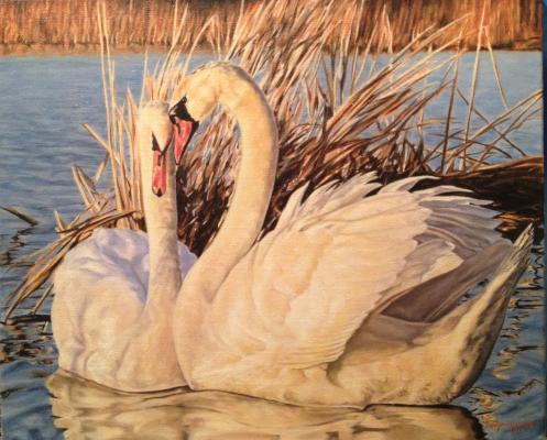 "Zelenskaya Y. ""Swans ."""