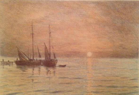 "Barto R. N. ""Sunrise on the sea"""