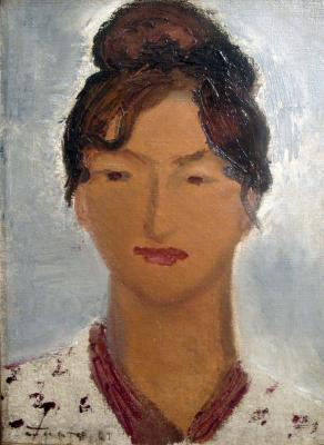 """Barto R. N. """"Portrait of Kira Nikolaevna F. .."""""""