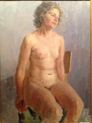 "Krayushkin N. G. ""Nude Model"""