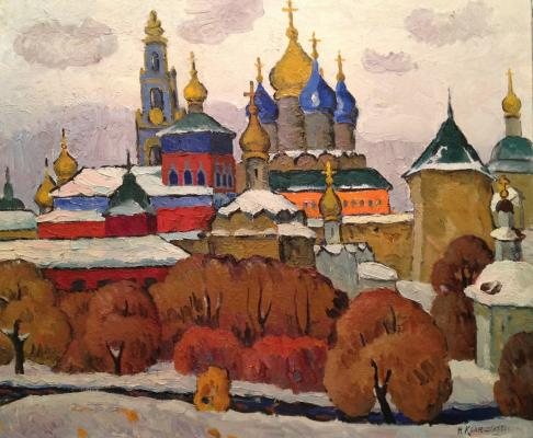 "Krayushkin N. G. ""The ensemble of Lavra in Sergiev"""