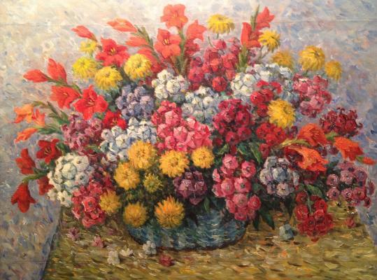 "Krayushkin N. G. ""Garden flowers"""