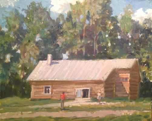 """Titov Y. V. """"Rustic idyll."""""""