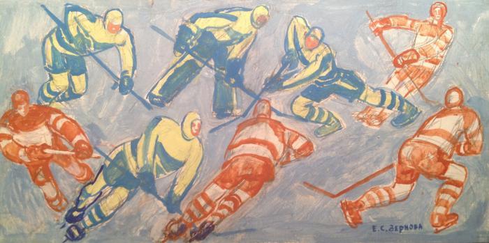 """Zernova Y. S. """"Hockey"""""""
