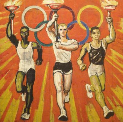"""Zernova Y. S. """"The Olympic flame ."""""""